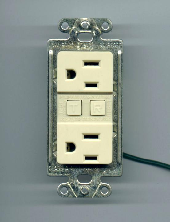 Eagle Ivory Ground Fault Circuit Interrupter