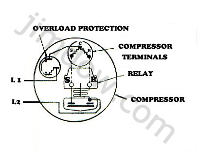 Refrigeration Wiring Diagrams Compressor
