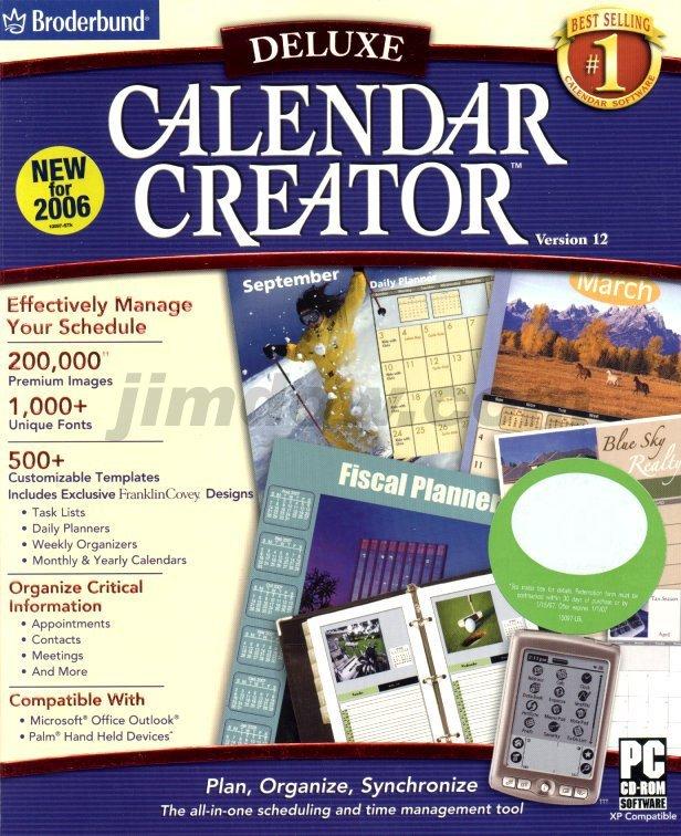 calendar creator 12